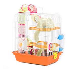 Gaiola Hamster Labirinto Safari 3 Andares Mega Promoção
