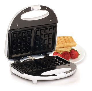 Wafflera Antiadherente Elite Cuisine Maxi Matic Color Blanco