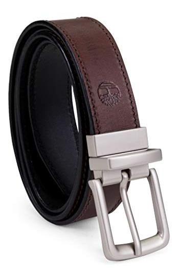 Timberland - Cinturón De Piel Para Hombre, Reversible, De C