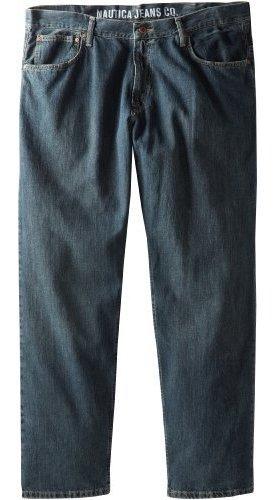 Nautica pantalones vaqueros de hombre relajado Cross-Hatch Jean