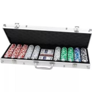 Excelente Fichero Poker 500 Fichas Profesionales Numeradas