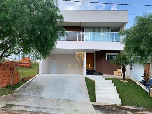 Casa Com 3 Dormitórios À Venda, 298 M² Por R$ 1.200.000,00 - Condomínio Portal Da Primavera - Sorocaba/sp - Ca0014