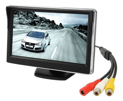 Monitor Vehiculo Lcd Color Automovil Pantalla 5.0