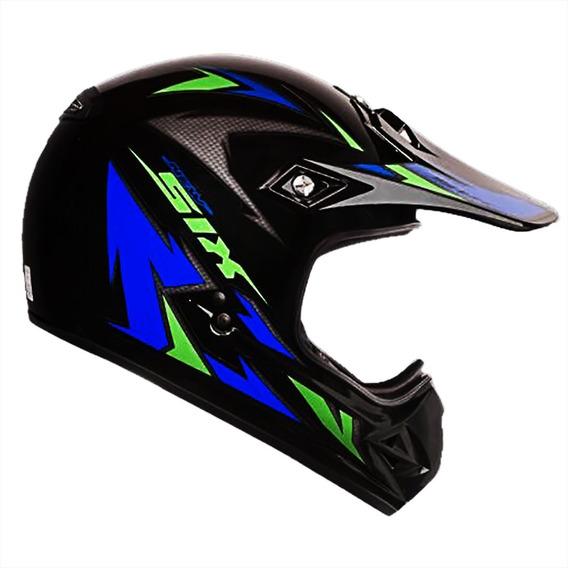 Capacete Motocross Ebf Fechado Muck Varios Tamanhos/cores