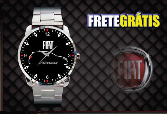 Relógio De Pulso Personalizado Logo Fiat Argo 2018