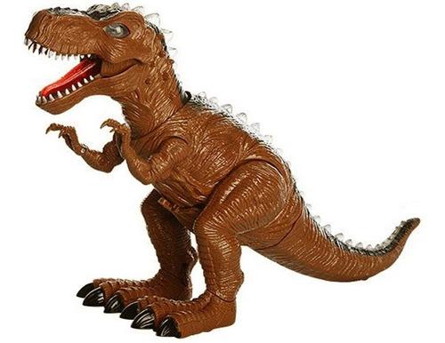 Imagen 1 de 1 de Dinosaur World T-rex 43cm Luz Sonido Dinosaurio Ref. 9912