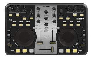 Controlador Pc Dj Skp Smx 800 Midi Musica Pilar