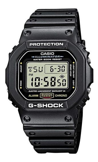 Relogio Casio G Shock Dw 5600 Classico Serie Prata Original