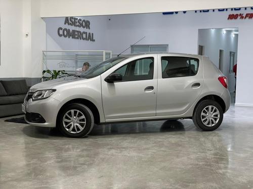 Renault Nuevo Sandero Authentique 2017 Permuto - Financio!!