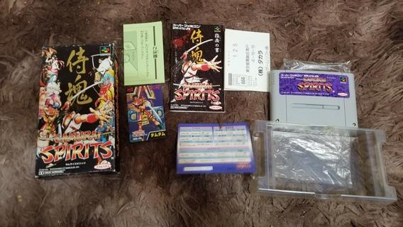 Samurai Shodown Original Nintendo Super Famicom Completo.