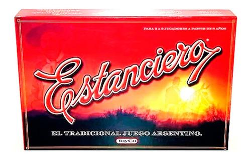 Juego De Mesa Estanciero Deluxe Original Toyco