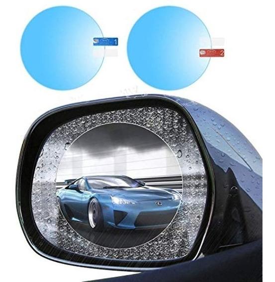 Pelicula Anti-embaçante E Reflexo P/ Retrovisor Carro E Moto