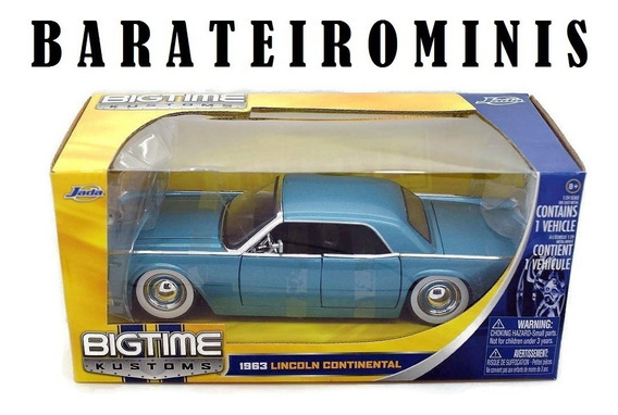 1:24 Jada Lincoln Continental Bigtime Kustoms Barateirominis