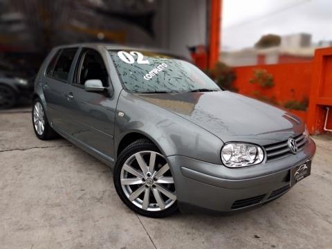 Volkswagen Golf 2.0 Cinza 2002