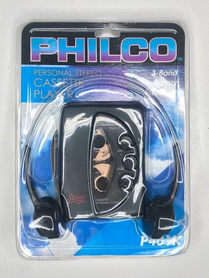 Novo Raro Philco Walkman Com Equalizador Fita Cassete P401k