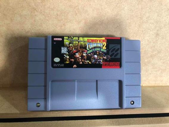 Cartucho Original Donkey Kong Country 2 Super Nintendo