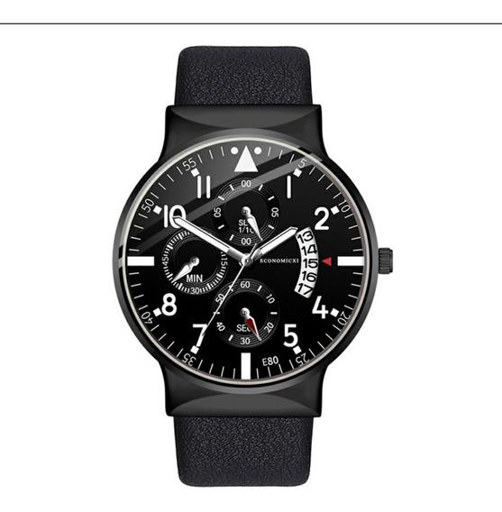 Relógio Quartzo Masculino Casual