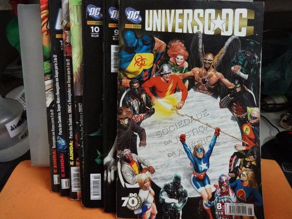 Hq Universo Dc Gibi Varias Edições 8 9 10 12 13 14 15