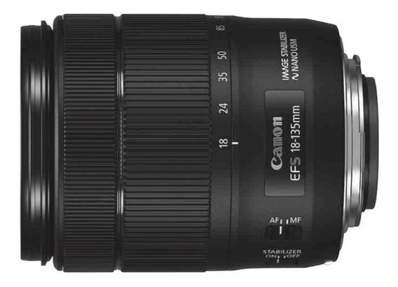 Lente Canon Ef-s 18-135mm 1:3.5-5.6 Is Nano Usm C/ Nf.e #