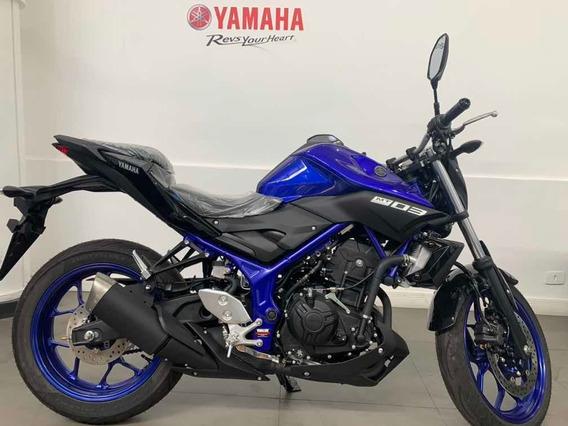 Yamaha Mt-03 Abs 2020 Azul 2020