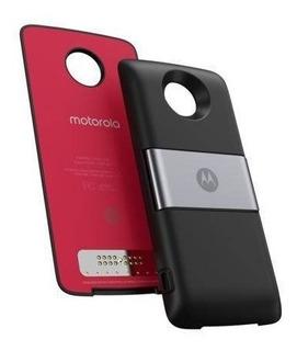 Moto Power Pack & Tv Digital Snap Z Play Z2 Z3 Capa Original