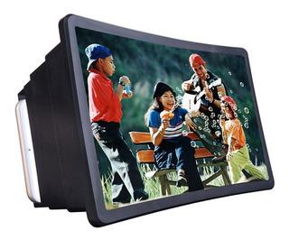 Ampliador Tela De Celular 3d Projetor Preto Cinema Em Casa
