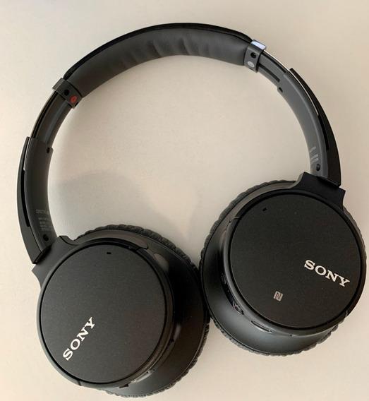 Headphone Wh-ch700n Com Noise Cancelling Sem Fio Ch700n