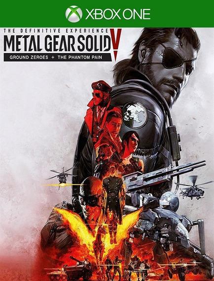 Metal Gear Solid V Definitive - Xbox One (25 Digitos)