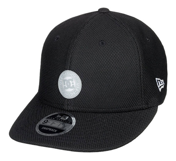 Gorra Hombre Casual Low Liner Adyha03723 Negro Dc Shoes