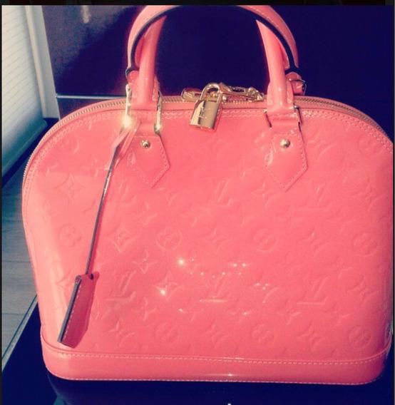 Carteras Louis Vuitton Modelo Alma. Original. Color Coral