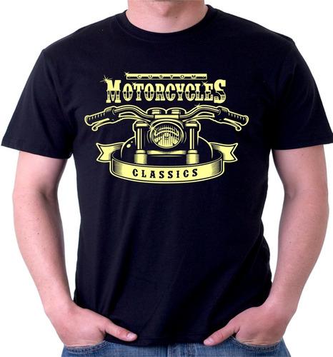 Camiseta Camisa Motocicleta Classicas Antigas Estradeiras