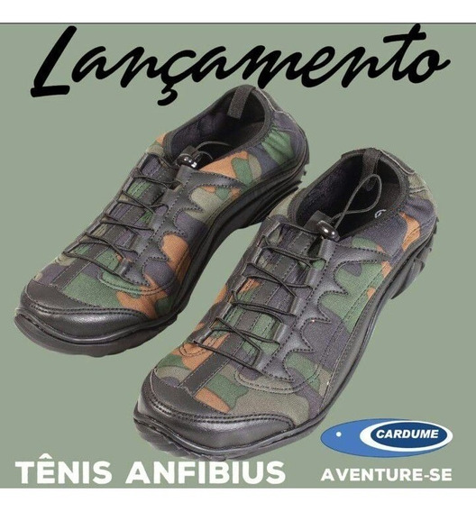 Tênis Anfibius Cardume (trilha,pesca,camping,nautica,bike)