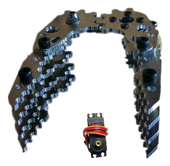 G6 Diy Robô Robótico De Metal Padrão Garra Padrão Estojo