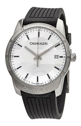 Relógio Calvin Klein Evidence Quartz Silver Dial K8r111d6