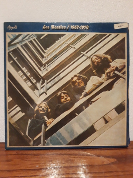 The Beatles 1967-1970 Lp Vinilo Doble Con Insert Nacional