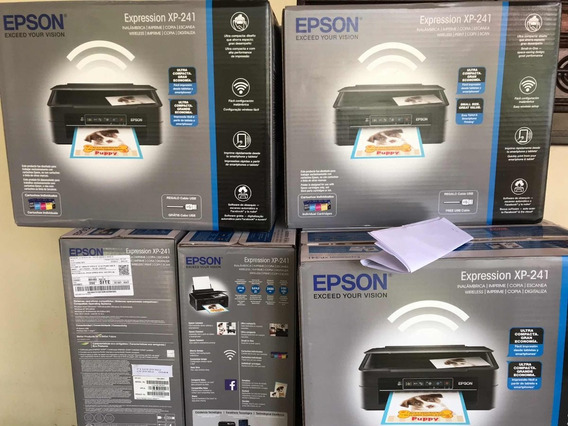 Impressora Epson Xp241 Com Bulkink + 400ml Tinta Sublimatica