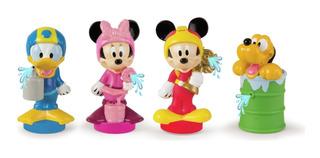 Disney Mickey Clubhouse 1 Figura Goma Lanza Agua