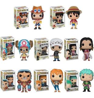Funko Pop One Piece Luffy Zoro Chopper Boa Hancock Ace
