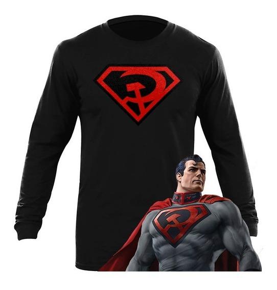 Playera Superman Red Son En Tierras Infinitas Arrowverse