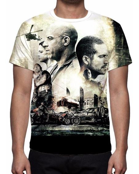 Camiseta Velozes E Furiosos 7 Mod 02