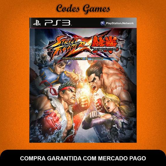 Street Fighter X Tekken - Ps3 - Pronta Entrega