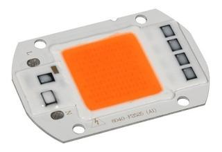 6 Led Chip 50w Alta Potencia +driver (220v) Full Spectrum