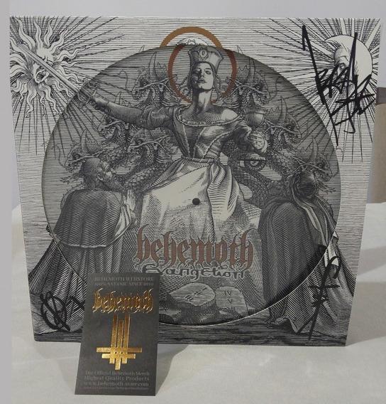 Lp Behemoth - Evangelion: Autografado! *picture Edition*