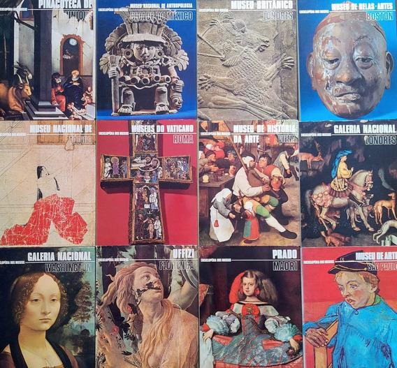 Coleção Enciclopédia Dos Museus - 16 Volumes - Frete Grátis