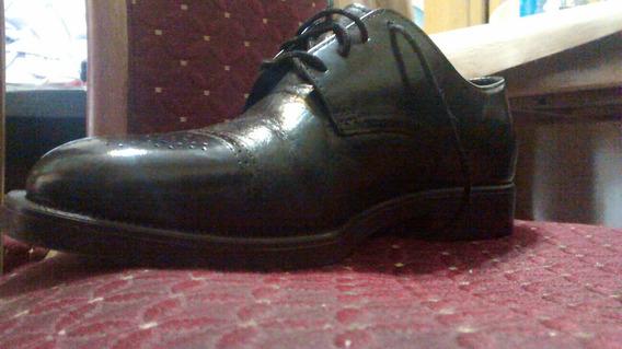 Zapatos De Charol, Taco Francés Para Hombre