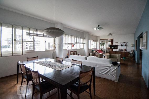 Apartamento Para Aluguel - Higienópolis, 3 Quartos, 260 - 893001849