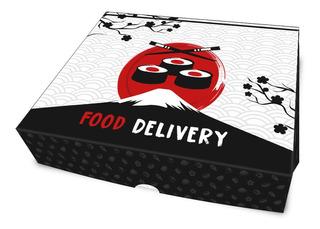 Embalagem Para Sushi, Comida Japonesa Delivery G (100 Unid.)