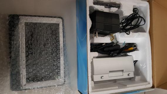 Tv Lcd Wide Screen Colorida 7 Com Controle Remoto