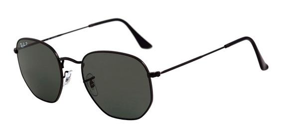 Óculos Ray-ban Rb3548 Hexagonal Original Masculino Feminino