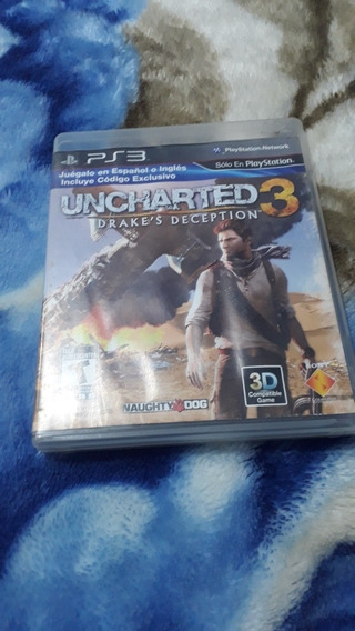 Jogo Uncharted 3 Original Ps3